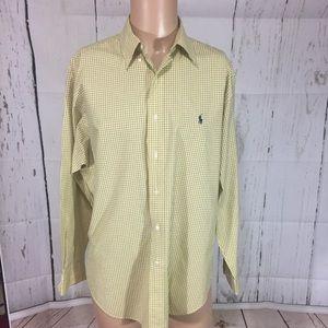 Ralph Lauren button down shirt men's  size 16 1/2